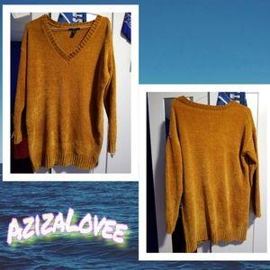 Gold/ Hazelnut Sweater Dress